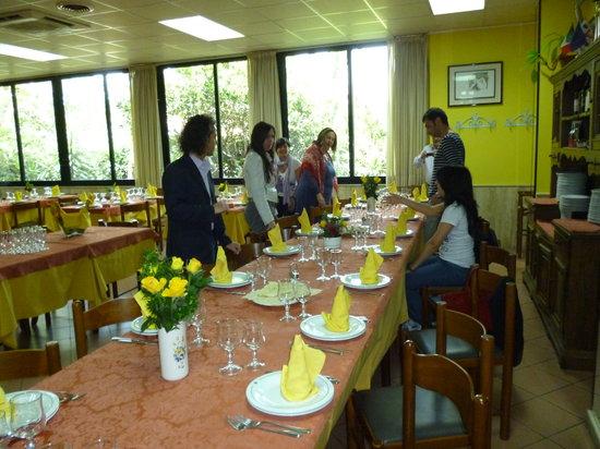 Il Quadrifoglio : il  tavolo a noi riservato