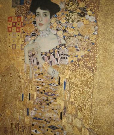 gustav klimt portrait of adele bloch bauer picture of neue galerie new york city tripadvisor. Black Bedroom Furniture Sets. Home Design Ideas