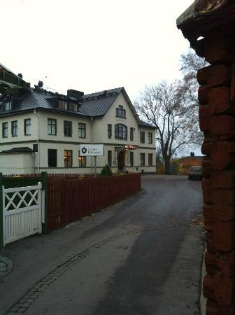 Sigtuna Stadshotell: Vackert hotell med vackert läge och fantastisk mat.