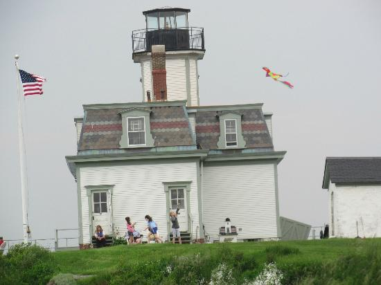 ‪Rose Island Lightouse‬