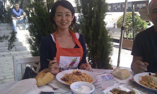 Afiyet Olsun Istanbul-  Cooking Workshop : Happy Erin ))))