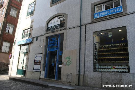 Yes! Hostel Porto: Yes! Porto hostel exterior