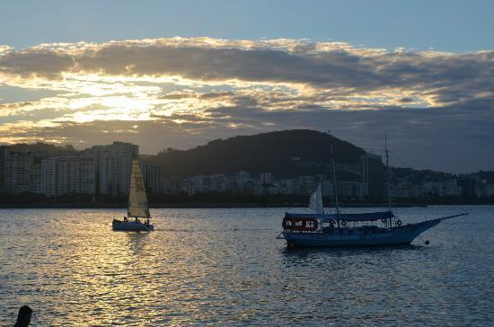 Bar Urca: view of Bahia de Guanabara