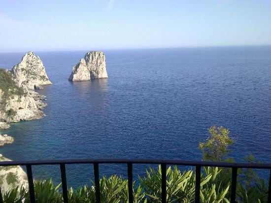 Hotel La Residenza: Breathtaking View of Capri