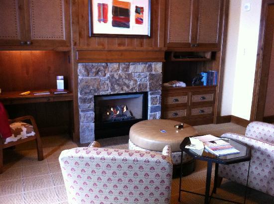 Four Seasons Resort and Residences Jackson Hole: Sitting area