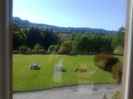 Mabie House Hotel: view from room 9