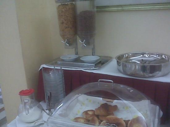 Hotel Santa Prisca: Breakfast