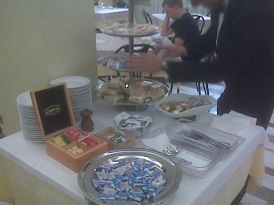 Hotel Santa Prisca: Breakfast room