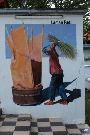 Laman Padi Langkawi: Beautiful mural