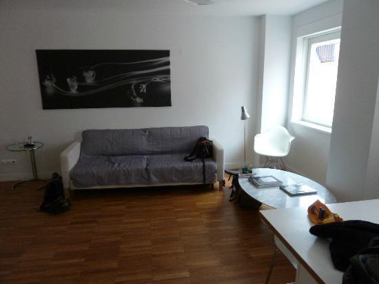 Lisbon Serviced Apartments - Bairro Alto: Wohnzimmer