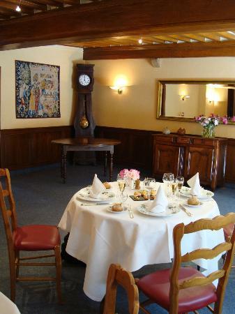 Hotel Le Raisin: Unser Tisch