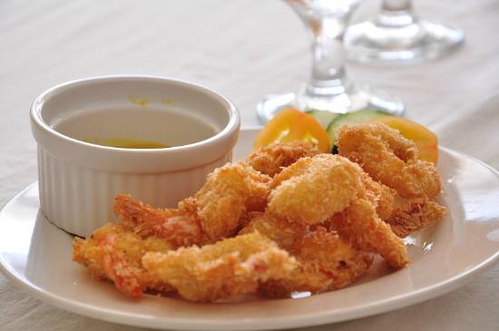 Bay Leaf Cafe Boracay : Shrimp Coconut