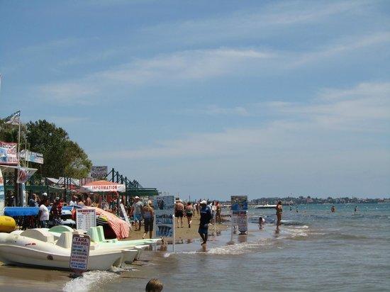 Side Mare Classic: Stranden østover