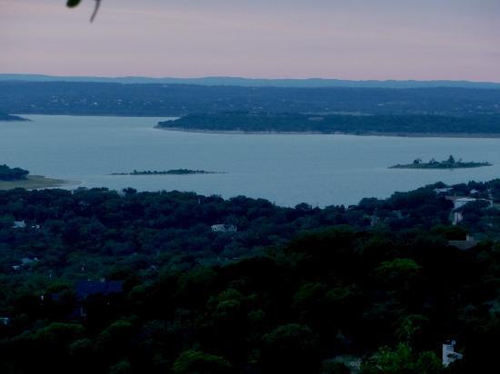 Canyon Lake from Hill along FM2673