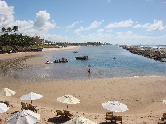 """Nannai Resort & Spa: Vista da praia """"particular"""" de Muro Alto"""
