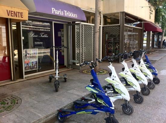 Paris Trikkes: looked more promising than it was