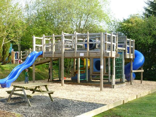 Brongwyn Holiday Cottages : One of the children's play areas