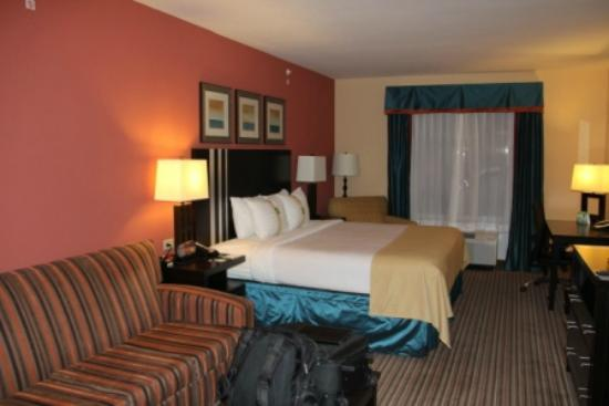 Holiday Inn Titusville Kennedy Space Center: King Bed room with sofa and desk area