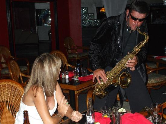 St. Petersburg Nights: Boris and his sax also does comedy