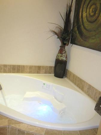 Inn on Lake Granbury: jacuzzi