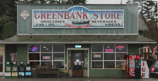 The Greenbank Grille : Front of the Greenbank Store. The Grille is upstairs