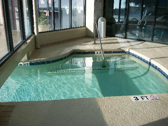 Indoor outdoor swimming pool picture of the palace - Indoor swimming pool myrtle beach sc ...