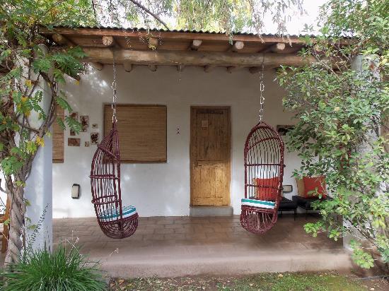 Parador del Angel: more patio