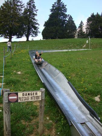 Montagne du Semnoz : Fun on the sledges