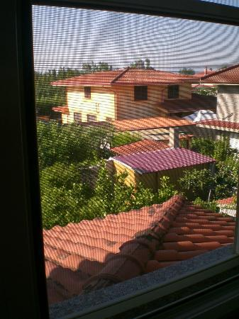 Il Ciliegio: view out of our room