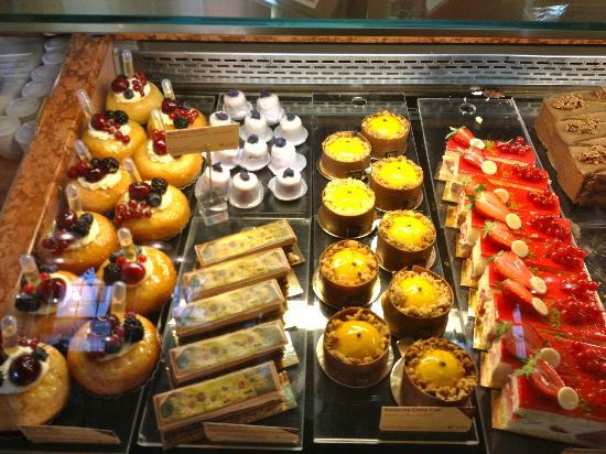 Desserts picture of cafe central vienna tripadvisor for Food bar wien