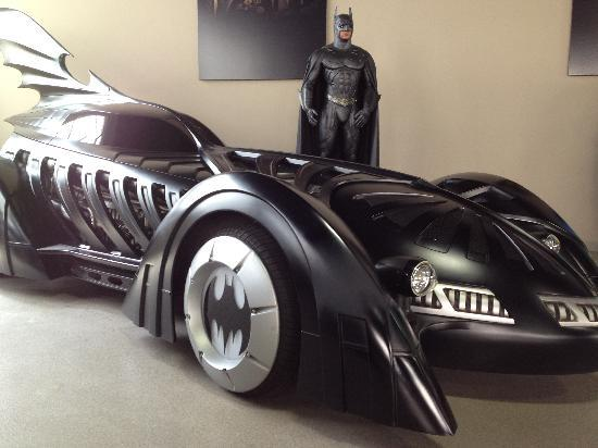 Burbank, Californien: The Batmobile (it is an actual functioning car!)