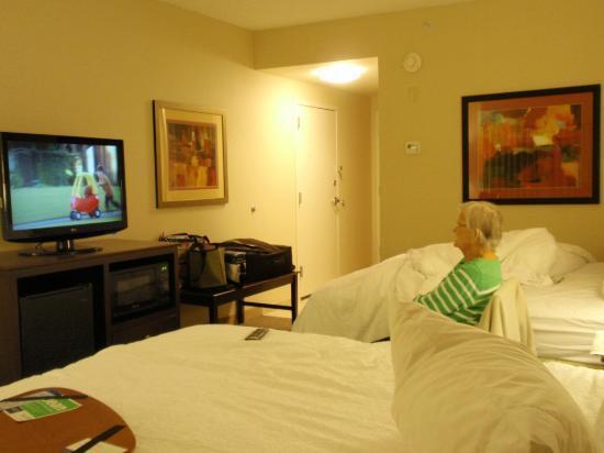 Hampton Inn Tunkhannock: spacious room