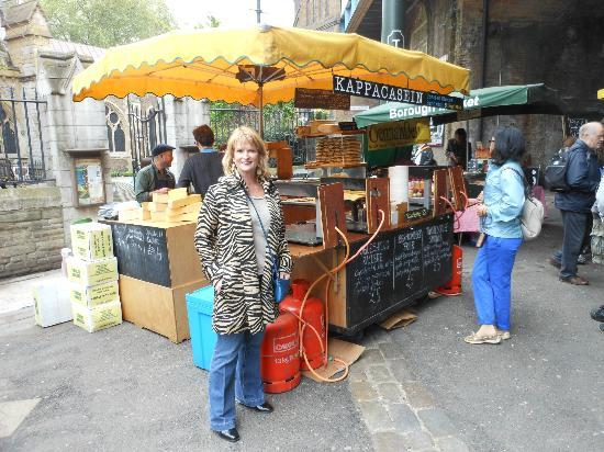Borough Market: Melted French Cheese Stand