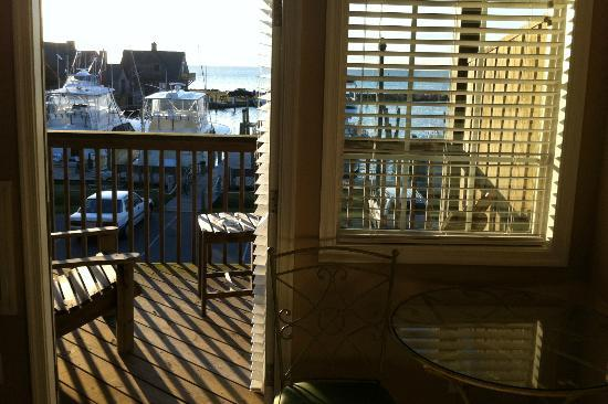 The Breakwater Inn: Room view