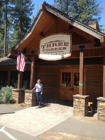 Sue at Three Creeks Brewing