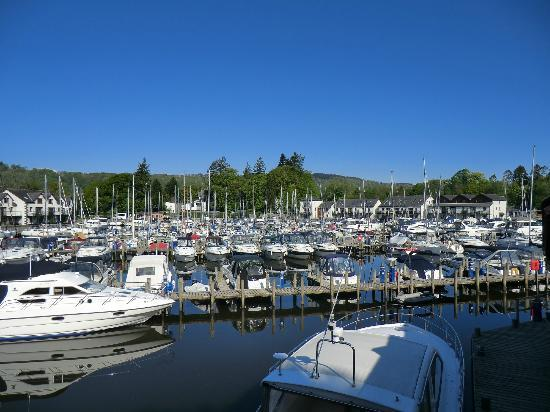 Windermere Marina Village : View from Balcony (day)