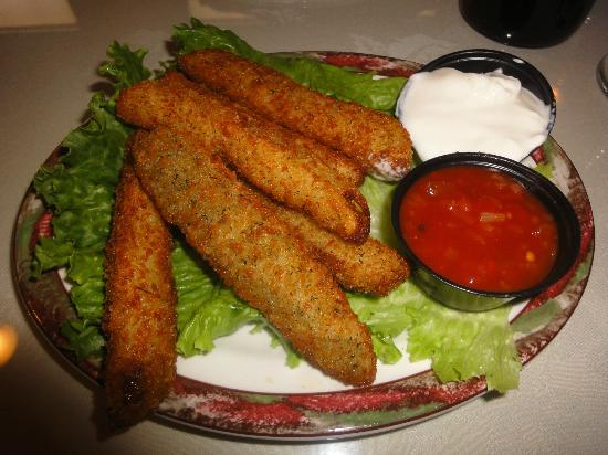 Pennydale Junction: Deep Fried Dill Pickles Appetizer