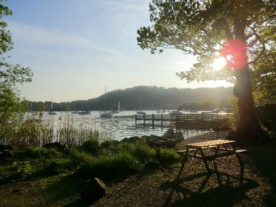 Windermere Marina Village: Picnic area
