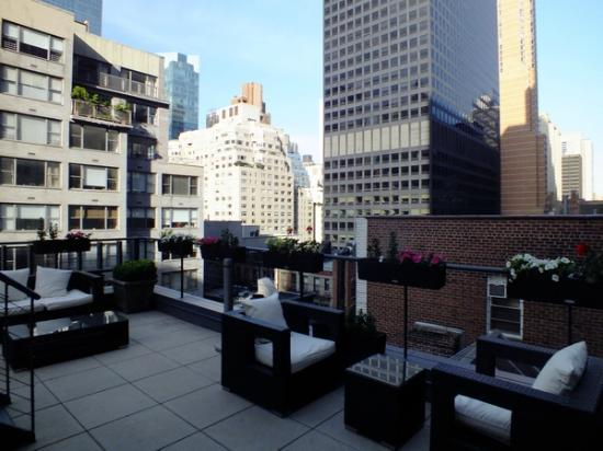 كرافي هوتل نيويورك: Dachterrasse