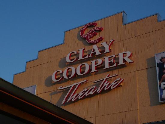 Clay Cooper Theatre: The theater