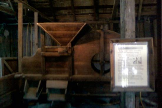 China Camp State Park: The shelling machine