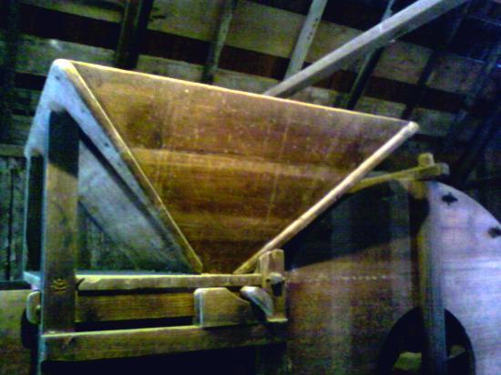 China Camp State Park: Part of the threshing machine to separate dried shrimp from its shell