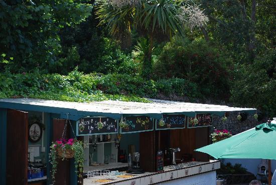 The Georgian House Restaurant: Our Garden