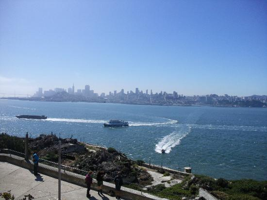 Galleria Park Hotel: Blick von Alcatraz