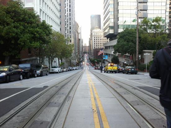 Galleria Park Hotel: Strassen von SF