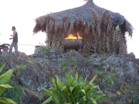 Ana Rapu Guest House: quincho