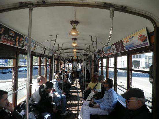 Galleria Park Hotel: Tram