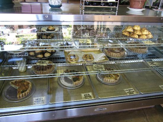 Hush-Harbor Artisan Bakery: Lots of pastries, quiches but not bread.