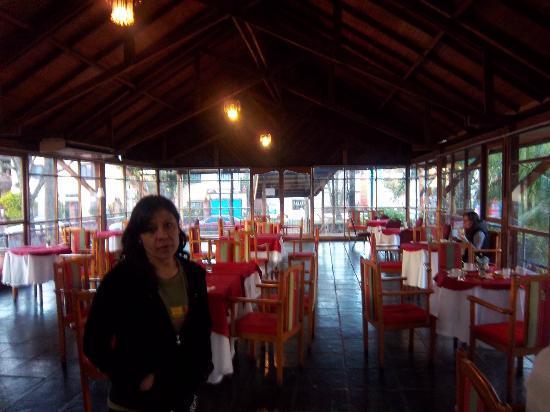 Latino Hotel: el comedor por la mañana, hermoso, muy ameno y calido