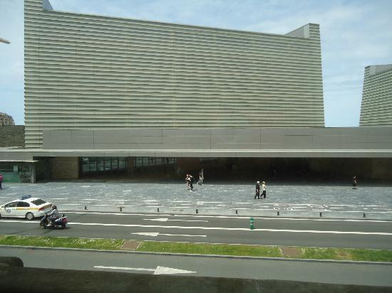 Pensión Kursaal: vistas desde el balcon de habitacion